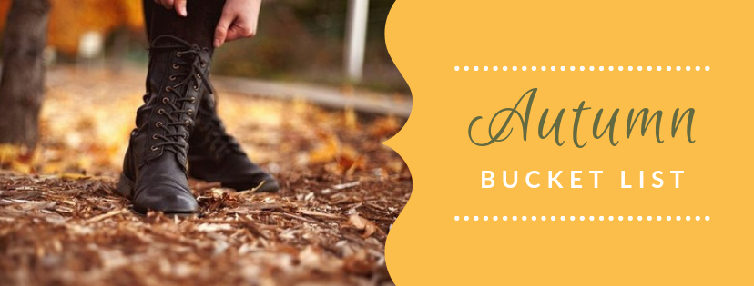 nay nays adventure - autumn bucket list