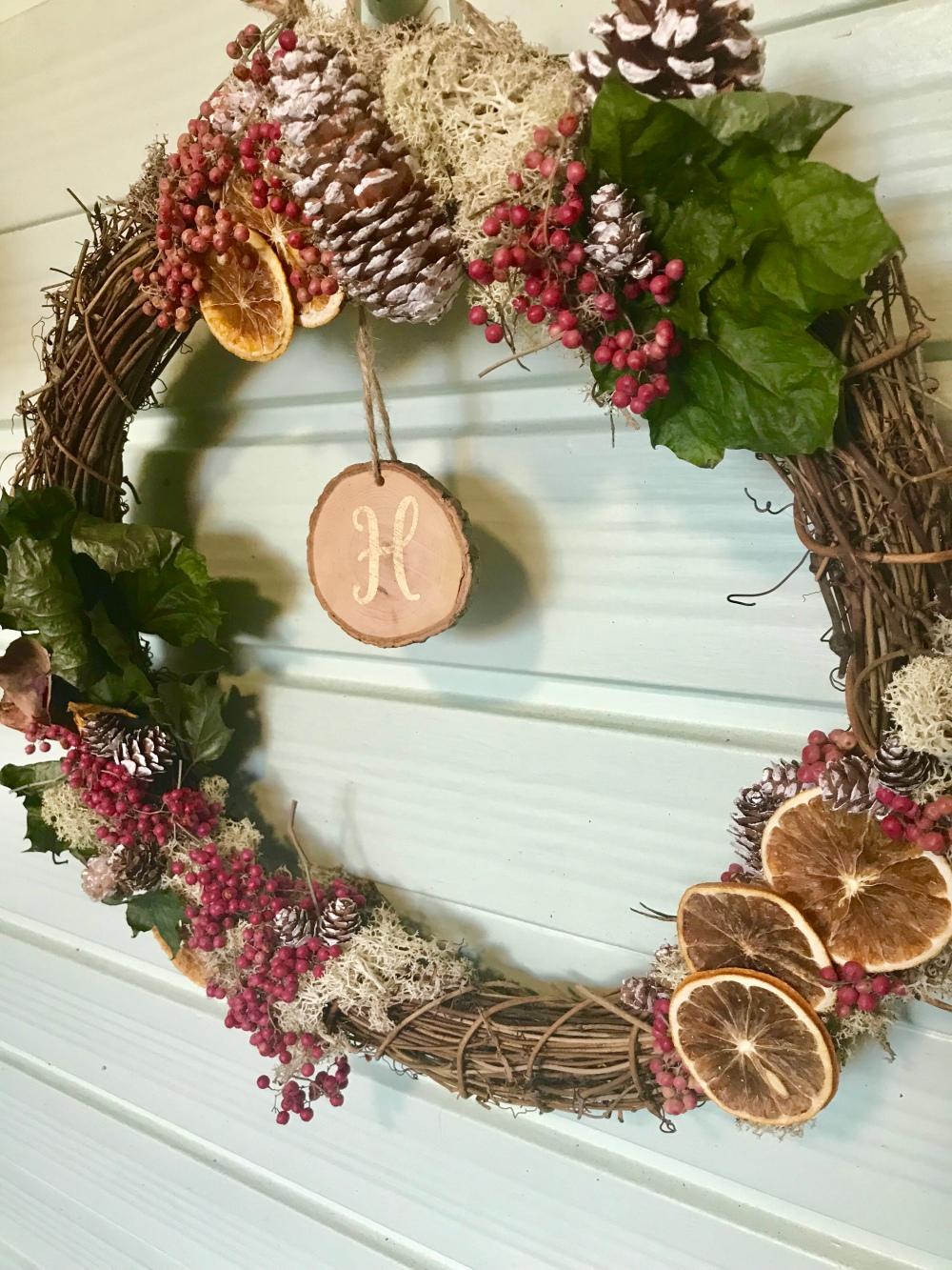 naynays autumn wreath