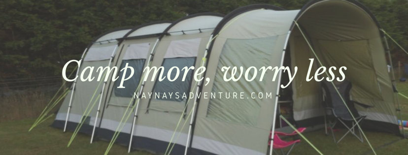 Camp more, worry less