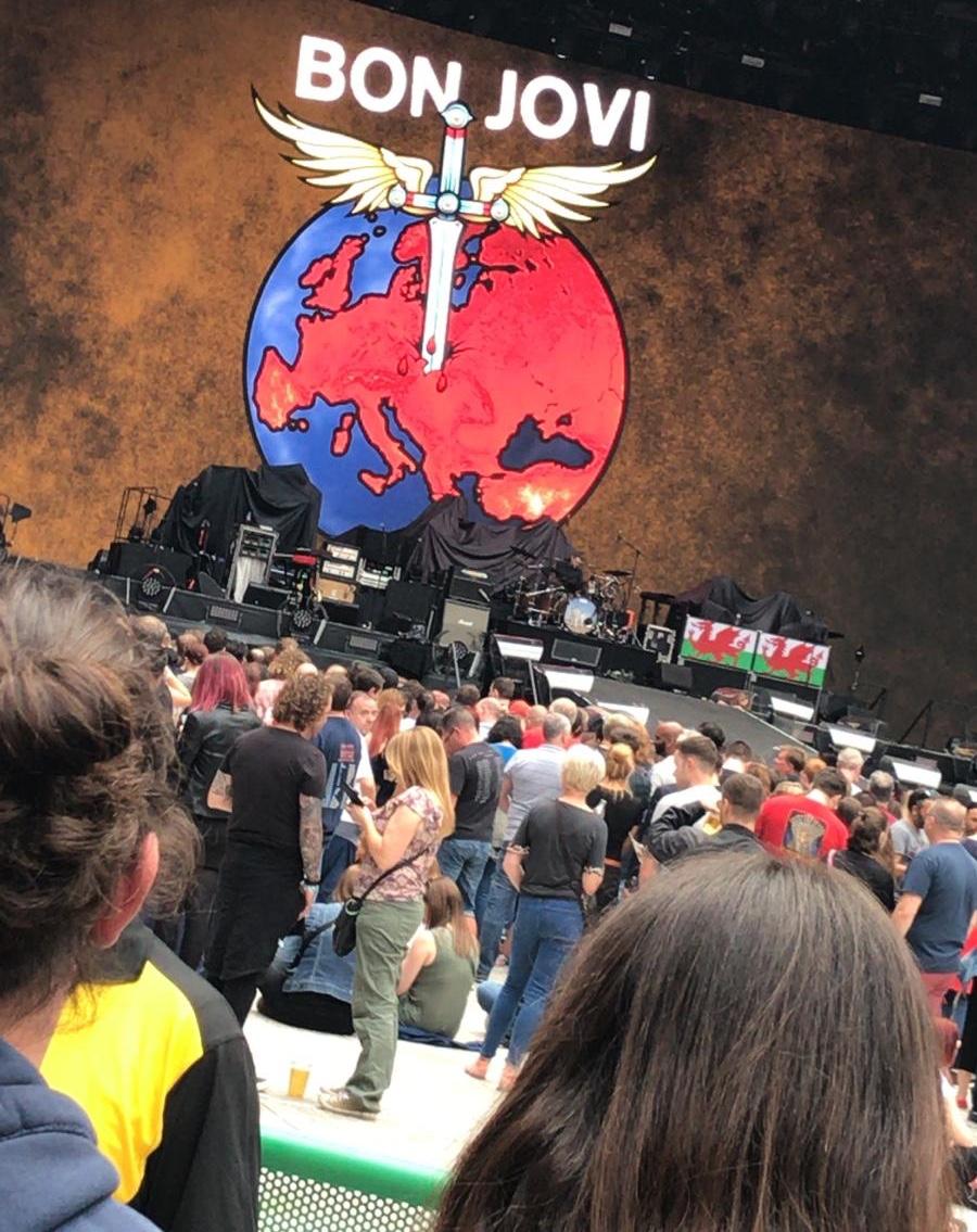 Bon Jovi Wembley