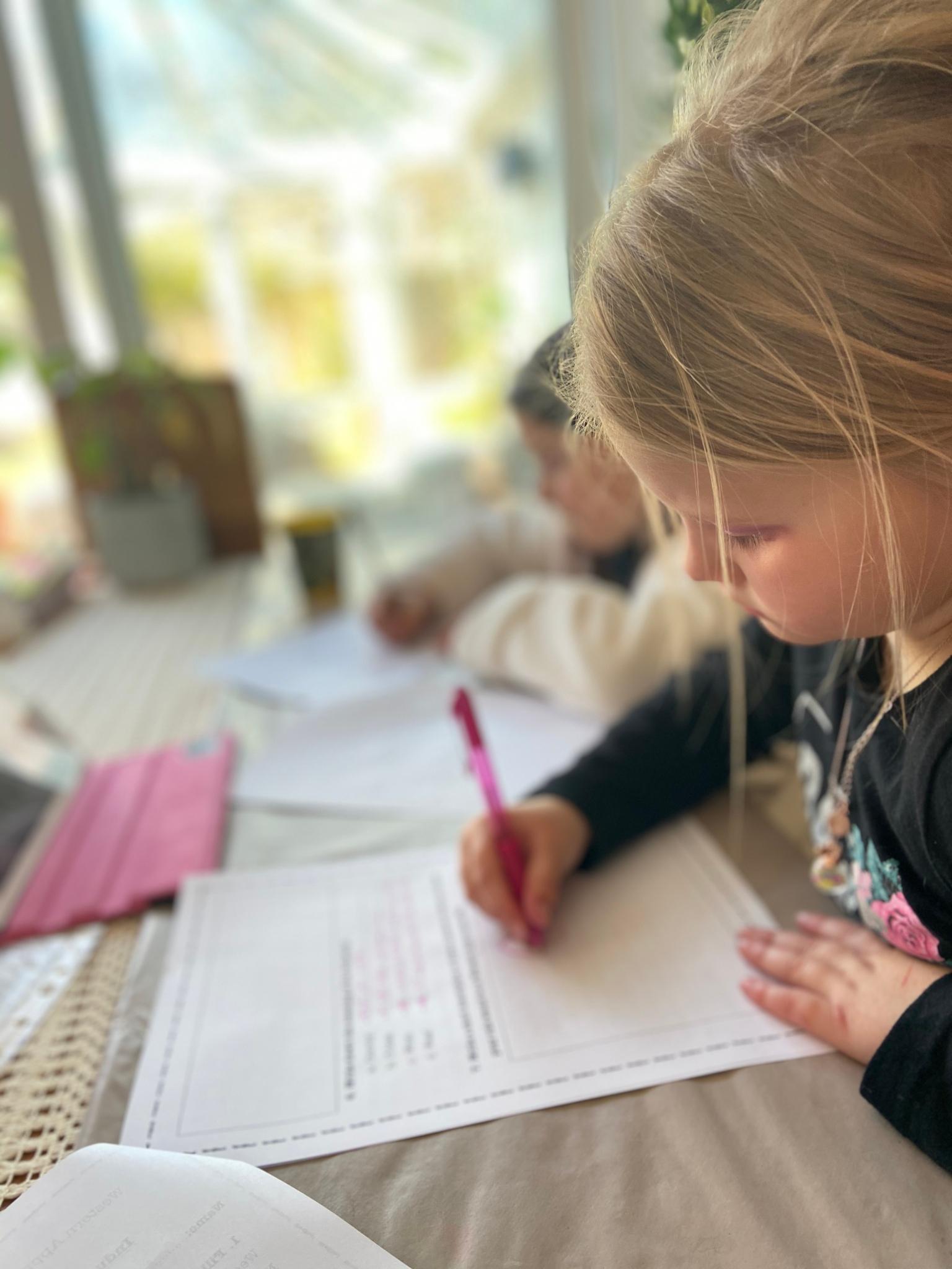 Homeschooling week one : naynaysadventure